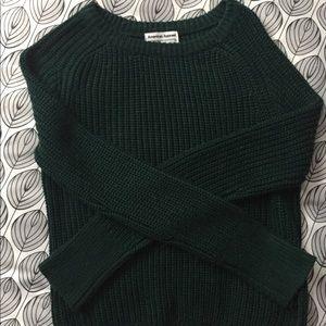 American Apparel Green Sweater